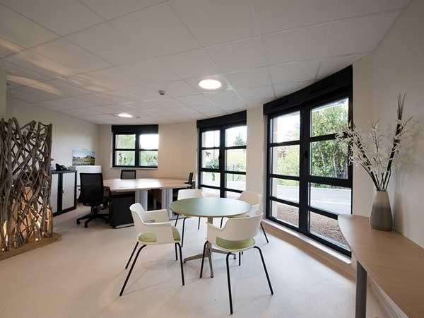 Aménagement intérieur de l'UHR Bergerac